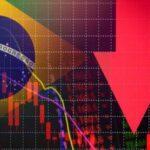 queda economia brasileira